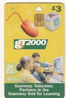 Guernsey Phonecard - £3 GT2000 - Superb Fine Used Condition - [ 7] Jersey Und Guernsey