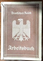 Arbeitsbuch-1936-AA Mannheim-Röchlingstahl Völklingen U.a. - 1939-45