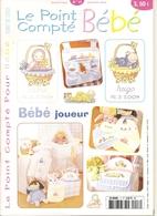 01 Le Point Compté Pour Bébé - N°17 - Janvier 2005 - Point De Croix