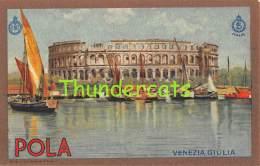 CPA EDITEUR E.N.I.T L. SALOME AQUARELLE POSTER AFFICHE ART  ROMA -  POLA VENEZIA GIULIA - Venezia (Venice)