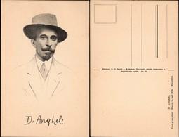 Famos People - Dimitrie Anghel (poet-write-novelist,1872 - 1914), Cornesti, Iasi. - Romania