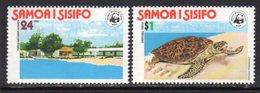 Samoa 1978 Hawksbill Turtle Conservation Set Of 2, MNH, SG 506/7 - Samoa