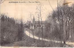 78 - AUFFARGIS : Vue Sur L'Eglise - CPA -  Yvelines - Auffargis