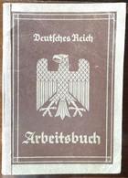Arbeitsbuch-1935-AA Laubahn/Schlesien-div.schlesische Tiefbaufirmenu.a. - 1939-45