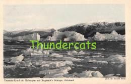 CPA  GRONLAND UMANAK FJORD MIT EISBERGEN UND NUGSUAK'S GEBIRGE GRONLAND - Greenland