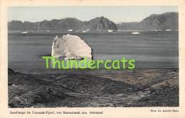 CPA  GREENLAND  GRONLAND -   INSELBERGE IM UMANAK FJORD VON KARSUARSUK AUS - Greenland