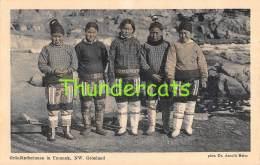 CPA  GREENLAND  GRONLAND -  GRONLANDERINNEN IN UMANAK NW - Groenlandia