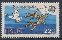 Italy Italie Italia 1979 Mi 1658 YT 1390 ** Carrier Pigeon With Message Tube - Geschichte Post- Und Fernmeldewesens - Post