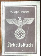 Arbeitsbuch-1939-AA Nienburg- Kraftfahrer Usw - 1939-45
