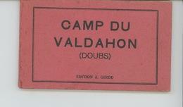 CAMP DU VALDAHON - Carnet Complet De 10 CPA - France