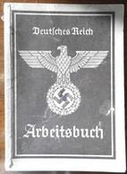 Arbeitsbuch-1940-AA Tetschen/Böhmen-Primeros Gummiwaren-danach Ab 1.12.45 Primeros/Praha - 1939-45