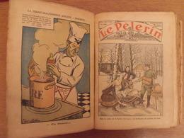 Reliure Recueil Le Pélerin De 1936 (janvier/décembre). Nombreuses Illustrations BD - Magazines Et Périodiques