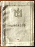 Wehrpass / Heer- Nachr.-Abt.228-Graudenz/ Ossa / Melno /Warschau / Modlin - 1939-45