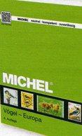 Katalog Europa-Vögel MlCHEL 2017/2018 Briefmarken New 70€ Vogel WWF Fauna Stamps/sheets Topics Catalogue Of Birds - Collections