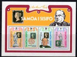 Samoa 1979 Death Centenary Of Rowland Hill MS, MNH, SG 555 - Samoa