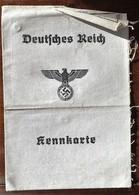 Deutsches Reich-Kennkarte-1942 - 1939-45