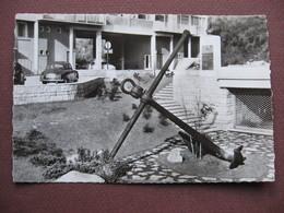CPA PHOTO 62 BOULOGNE SUR MER Chambre De Commerce Ancre Marine 1950 60 - Boulogne Sur Mer