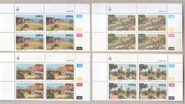 South West Africa 1987 Tourism Set Of MNH Stamps In Blocks - Stamps
