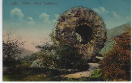 CPA 68 ( Haut Rhin ) - THANN - Ruine Engelsbourg ( Colorisé ) - Thann