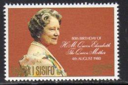 Samoa 1980 Queen Mother 80th Birthday, MNH, SG 572 - Samoa