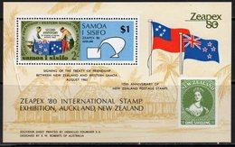 Samoa 1980 Zeapex Stamp Exhibition MS, MNH, SG 573 - Samoa