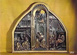 68 - COLMAR - La Cathedrale Saint Martin (XIIIe Et XIVe Siecles) Triptyque Par Le Sculpteur - Colmar