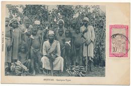 ANJOUAN - Quelque Types - Comores