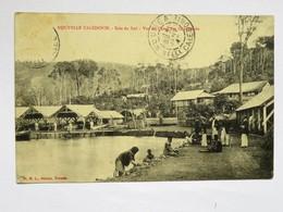 C.P.A. Nouvelle Calédonie : Baie Du Sud, Vue Du Camp Des Condamnés, Animé, En 1912 - Nouvelle-Calédonie