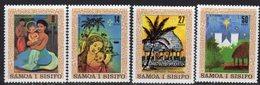 Samoa 1980 Christmas Paintings Set Of 4, MNH, SG 579/82 - Samoa