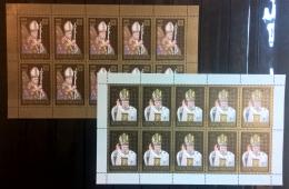 Vaticano 2008 Sass. 1477/78 Minifogli Da 10 **/MNH VF - Blocks & Sheetlets & Panes