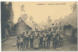 ANJOUAN - Enfants Du Village De Dzindi - Comoros
