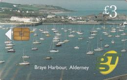 Guernsey Phonecard - £3 Alderney- Superb Fine Used Condition - Ver. Königreich