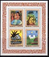 Samoa 1980 Christmas Paintings MS, MNH, SG 583 - Samoa