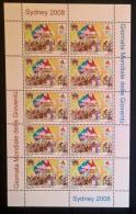 Vaticano 2008 Sass. 1472 Minifogli Da 10 **/MNH VF - Blocs & Feuillets