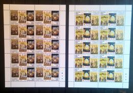 Vaticano 2008 Sass. 1470/71 Minifogli Da 10 **/MNH VF - Blocks & Sheetlets & Panes