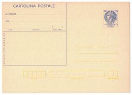 N208  Cartolina Postale 1977 - SIRACUSANA '77 £.120 - Nuova - Postwaardestukken
