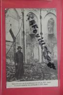 Cp Japon Eglise Devastee Par Le Tremblement De Terre De 1923 Animé - Tokyo
