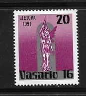 LITUANIE 1991 JOURNEE NATIONALE  YVERT N°403  NEUF MNH** - Lithuania