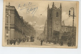 ROYAUME UNI - ENGLAND - NEWCASTLE ON TYNE - Grainger Street (tramway ) - Newcastle-upon-Tyne