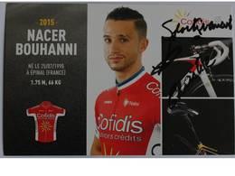 Carte Postale - Nacer Bouhanni - Dédicace - Hand Signed - Autographe Authentique  - Cyclisme - Cycling