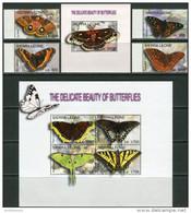 Sierra Leone 2004. Michel #4568/75+Bl.#596 MNH/Luxe. Butterflies. (B35) - Papillons