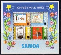 Samoa 1982 Christmas MS, MNH, SG 633 - Samoa
