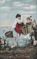 BEBES Multiples : Balade En Barque :  ( Bonne Année ) - Bébés