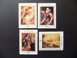 Mauritania Mauritanie 1978 Tableaux De Rubens Yvert 382 / 85 ** MNH - Rubens