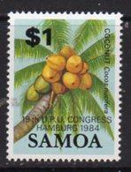 Samoa 1984 UPU Congress Overprint, MNH, SG 677 - Samoa