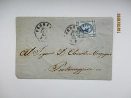 ITALY  1863 FERRARA   ,  COVER  ,  0 - 1861-78 Vittorio Emanuele II