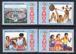 Samoa 1984 Olympic Games Set Of 4, MNH, SG 678/81 - Samoa