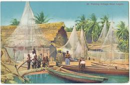 NIGERIA, LAGOS - Fishing Village - C.M.S. Bookchop, Lagos - Nigeria