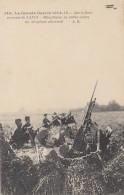 CP  FRONT DE NANCY  1914-1915 MITRAILLEUSE EN ACTION  CONTRE UN AEROPLANE ALLEMAND - Weltkrieg 1914-18