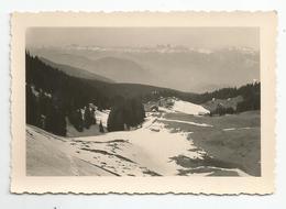 Photographie 38 Isère Recoin De Chamrousse Mars 1948 Photo 6,5x9,5 Cm Env - Places